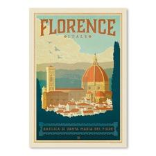 Florence Printed Wall Art