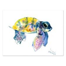 Baby Sea Turtles 4 Printed Wall Art