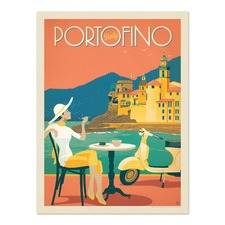 Portofino Printed Wall Art