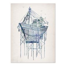Dry Dock 1 Printed Wall Art