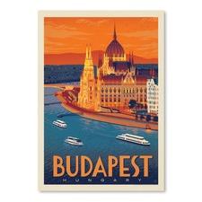 Hungary Budapest Printed Wall Art