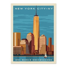 One World Observatory Printed Wall Art