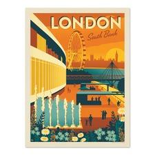 London South Bank Printed Wall Art