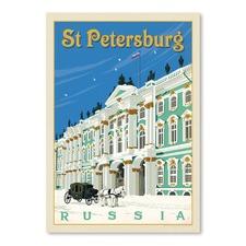 St Petersburg Printed Wall Art