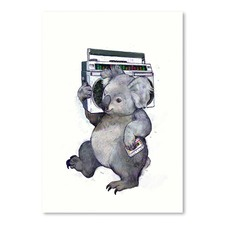 Koala Printed Wall Art