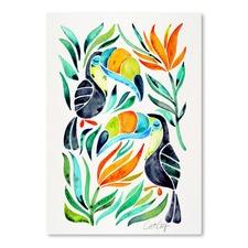 Toucans Printed Wall Art