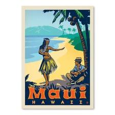 Maui Printed Wall Art