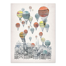 Voyages Over Edinburgh Printed Wall Art