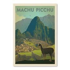 Machu Picchu Printed Wall Art