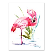 Flamingo 1 Printed Wall Art