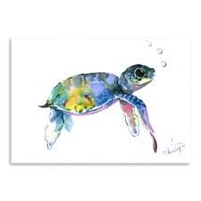 Baby Sea Turtles 2 Printed Wall Art
