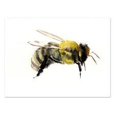 Bumblebee 1 Printed Wall Art
