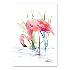 Flamingo 4 Printed Wall Art