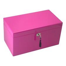 Large Hot Pink Kandi Luxury Jewellery Box