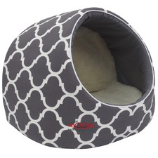 Lattice Igloo Woolly Pet Bed