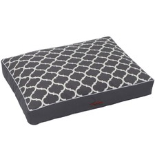 Lattice Shapes Oblong Pet Cushion