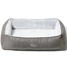 Grey Snuggler Pet Bed