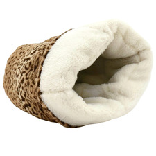 Leopard Snooza The Cocoon Cat Bed