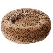 Leopard Snooza Cuddler Pet Bed