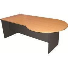 210cm P-end Left Home Desk