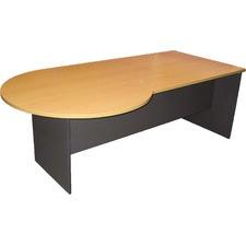 210cm P-end Right Home Desk