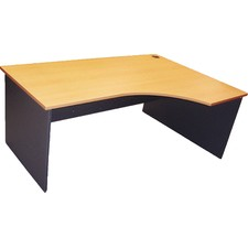 180cm Curved Right Home Desk