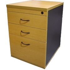 Desk Height Pedestal with Lock