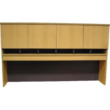 Desk Hutch with Four Doors
