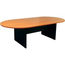 D End Boardroom Table