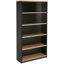 Solid Back Bookcase