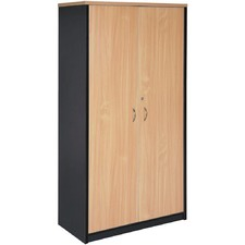 Stationary Cupboard Full Door Storage Cabinet
