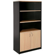 Stationary Cupboard Half Door Storage Cabinet