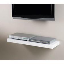 120cm Shelf in High Gloss White