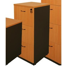 Logan Three-Door Filing Cabinet