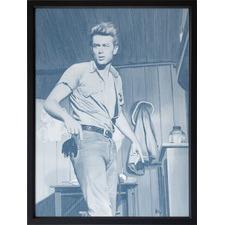 Dusk James Dean Framed Print