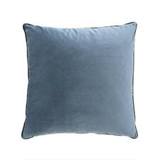 Grey Mist Square Velvet Cushion