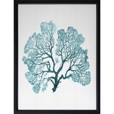 Turquoise Jamaica Framed Print