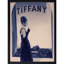 Blue Tiffany Framed Print