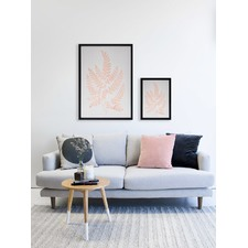 Blush Chestnut Framed Print