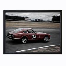 Speed Racer Framed Print