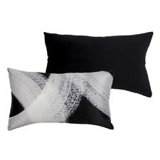 Domino Lumbar Velvet Cushion