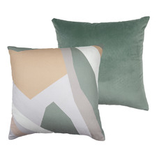 Sea Drifter Square Velvet Cushion