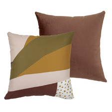 Golden Girl Velvet Square Cushion