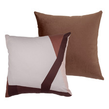 Bordeaux Velvet Square Cushion