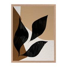 Nutmeg Framed Printed Wall Art
