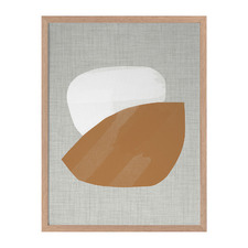 Cinnamon Framed Printed Wall Art