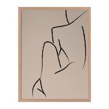 Skinny Love Framed Printed Wall Art