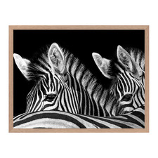Double Trouble Framed Printed Wall Art