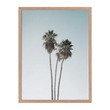 Lone Palms Framed Printed Wall Art