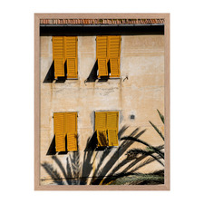 Italian Clay Framed Printed Wall Art